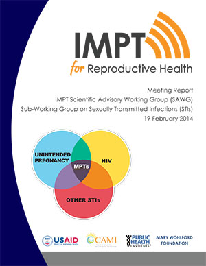 2014 IMPT SAWG Sub-Working Group on Sexually Transmitted Infections Report