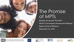 The promise of MPTs
