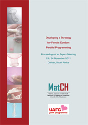 Developing a Strategy  for Female Condom Parallel Programming