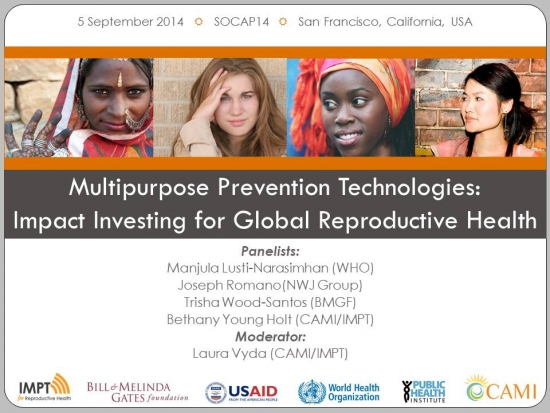 Multipurpose Prevention Technologies: Impact Investing for Global Reproductive Health