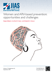 ARV-based HIV prevention for women – where we are in 2014
