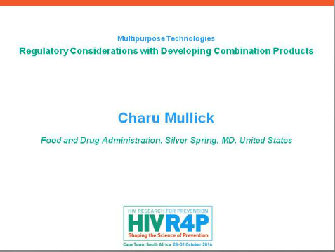 Regulatory Considerations with Developing Combination Products