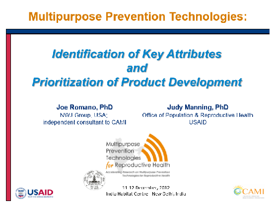 Identification of Key Attributes and Prioritization of Product Development