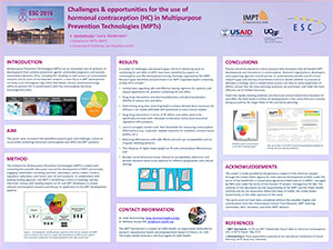 Challenges & opportunities for the use of hormonal contraception (HC) in Multipurpose Prevention Technologies (MPTs)