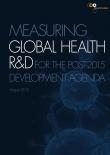 Measuring Global Health R&D for the Post-2015 Development Agenda