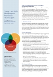 Saving Lives With Multipurpose Prevention Technologies: Turning Ideas Into Solutions for Sexual and Reproductive Health - Fact Sheet