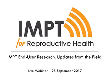 MPT End-User Research: Updates from the Field