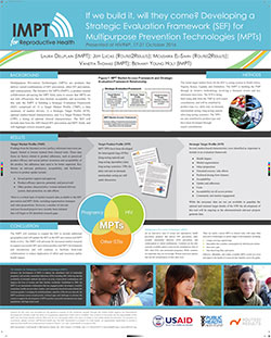 If we build it, will they come? Developing a Strategic Evaluation Framework (SEF) for Multipurpose Prevention Technologies (MPTs)