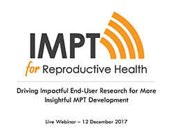 Driving Impactful End-User Research for More Insightful MPT Development