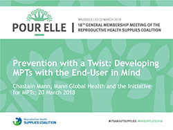 Prevention with a Twist: Developing MPTs with the End-User in Mind