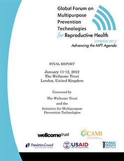 Global Forum on Multipurpose Prevention Technologies
