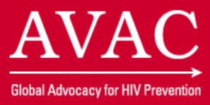 AVAC Report 2018: No Prevention, No End